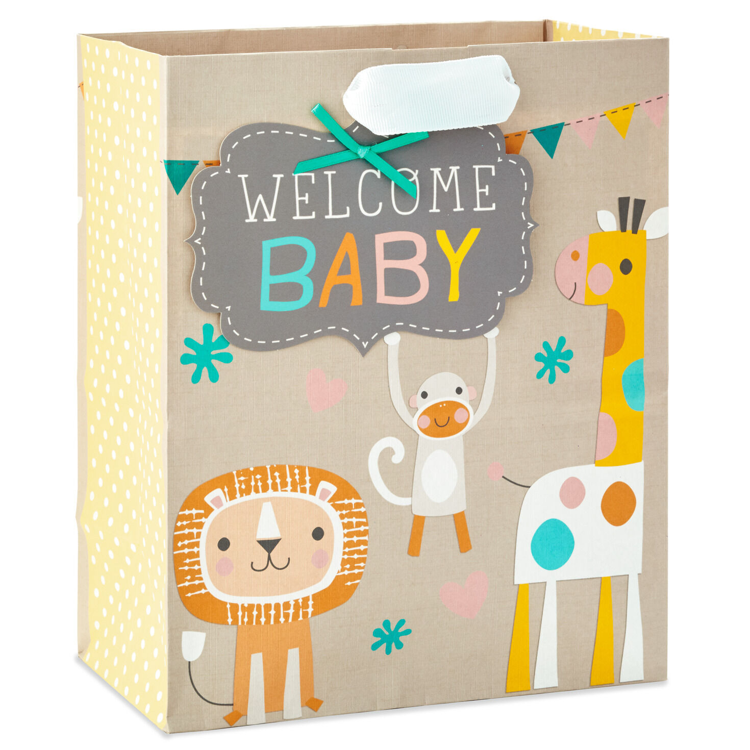 elephants ALL in one Bag! any occasion ~Lion Tag and Ribbon~ Baby or Birthday GIANT GIFT SACK ~ 36 x 44 Bag
