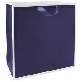 "Midnight Blue X-Deep Gift Bag, 15"", , large"