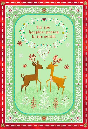By My Side Christmas Love Card