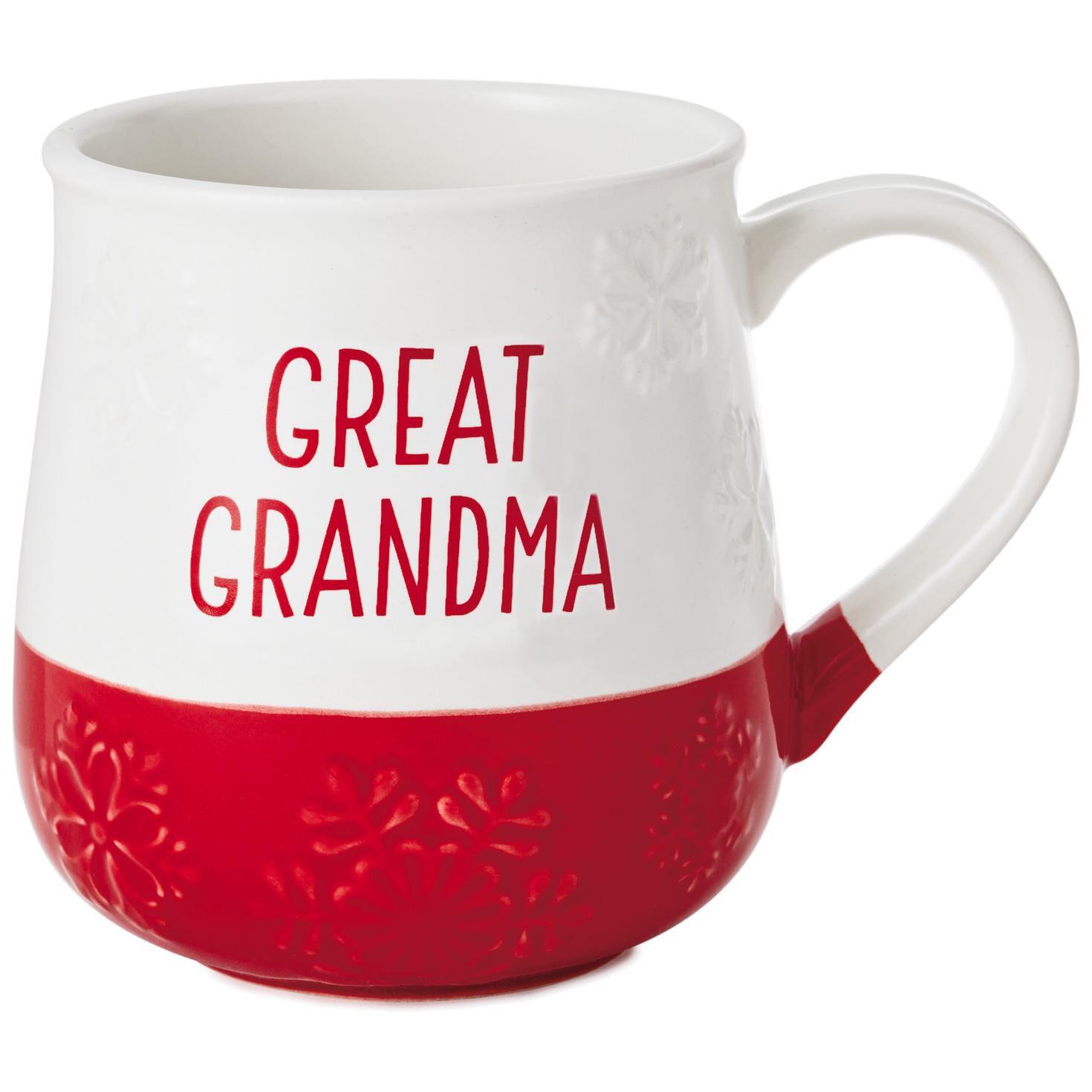 great grandma holiday mug 14 oz mugs teacups hallmark