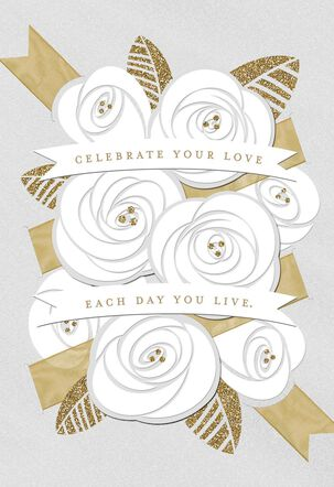 Celebrate Your Love Wedding Card