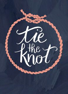 Tie the Knot Wedding Card,