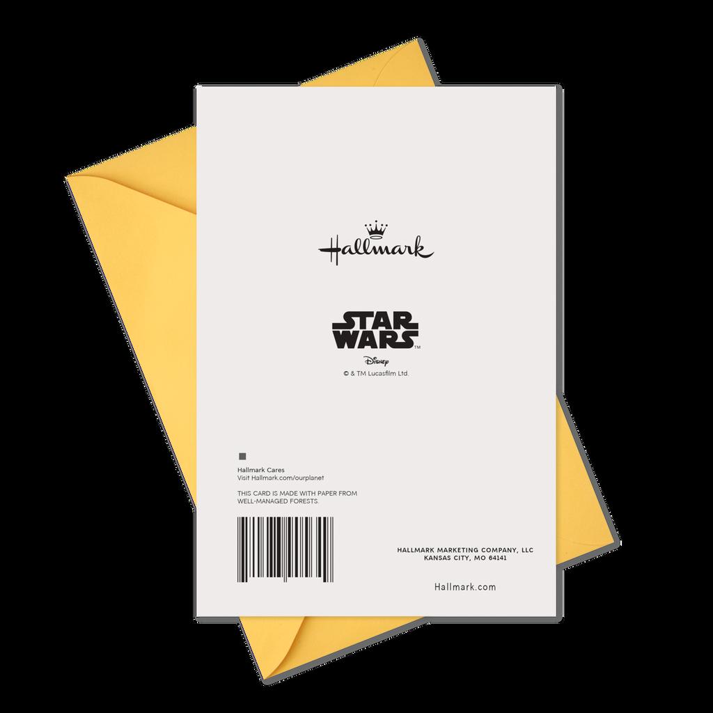 Star WarsTM R2 D2TM And C 3POTM Dogs Birthday Card