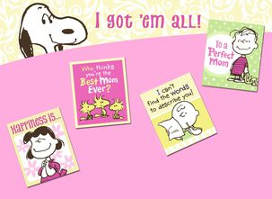Peanuts® Best Mom Ever Mother's Day Card