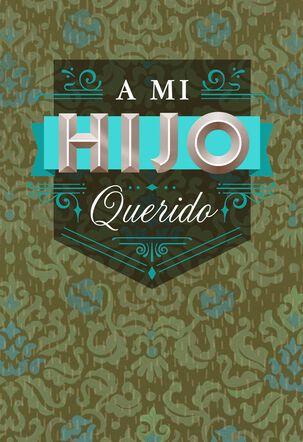 To My Beloved Son Spanish-Language Birthday Card