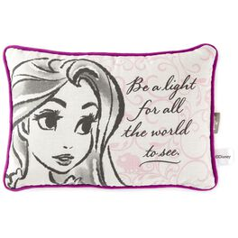 "Tangled Rapunzel Fashion Sketch Decorative Pillow, 12"", , large"