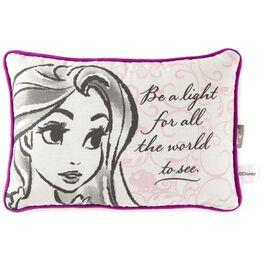 "Tangled Rapunzel Fashion Sketch Decorative Pillow, 12"", , large"