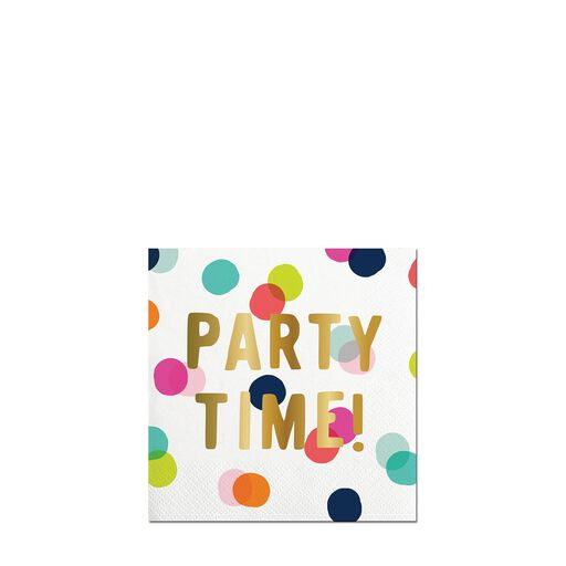 30799f080384 Party Time Confetti Cocktail Napkins