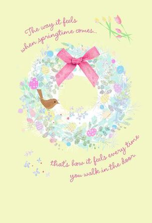 Love You Easter Card