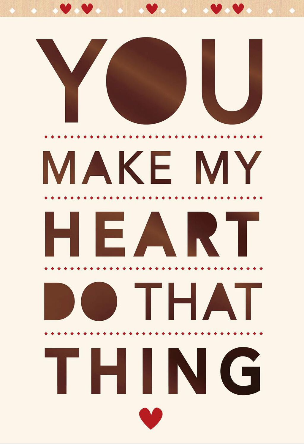 Happy Heart Romantic Sweetest Day Card Greeting Cards Hallmark