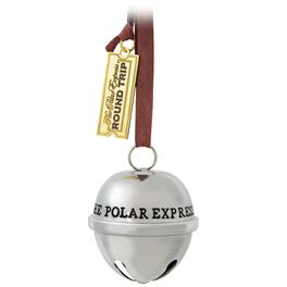 THE POLAR EXPRESS™ Santa's Sleigh Bell Ornament, , large