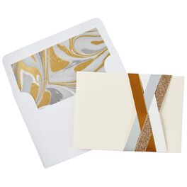 Paper Weave Blank Note Cards, Box of 8, , large