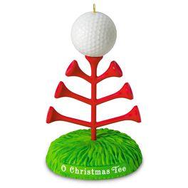 O Christmas Tee Golf Ornament, , large