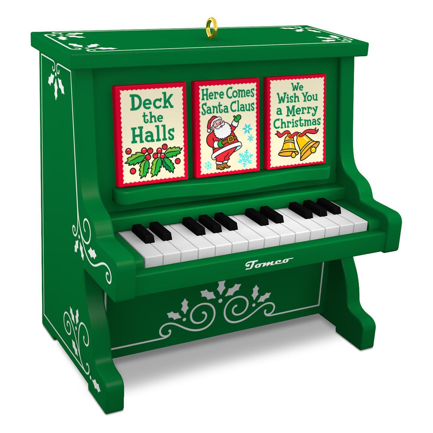 Caroling Piano Musical Ornament - Keepsake Ornaments - Hallmark