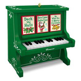 Caroling Piano Musical Ornament, , large