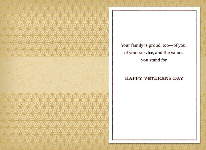 Be proud today veterans day card greeting cards hallmark be proud today veterans day card m4hsunfo