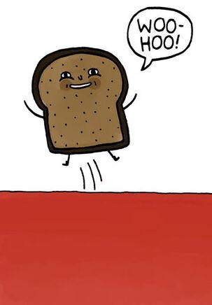 Woo-Hoo Toast to You Funny Birthday Card