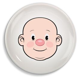 Fred & Friends Ms. Food Face Dinner Plate, , large