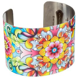 Catalina Estrada Flourishing Blooms Cuff Bracelet, , large