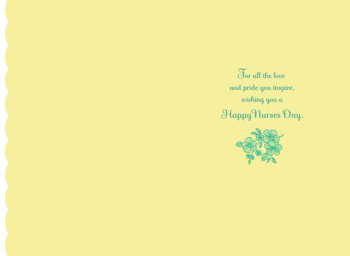 Nurses day cards hallmark love and pride for nurse daughter nurses day card m4hsunfo