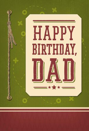 The Best Coach, Fan and Referee Birthday Card for Dad