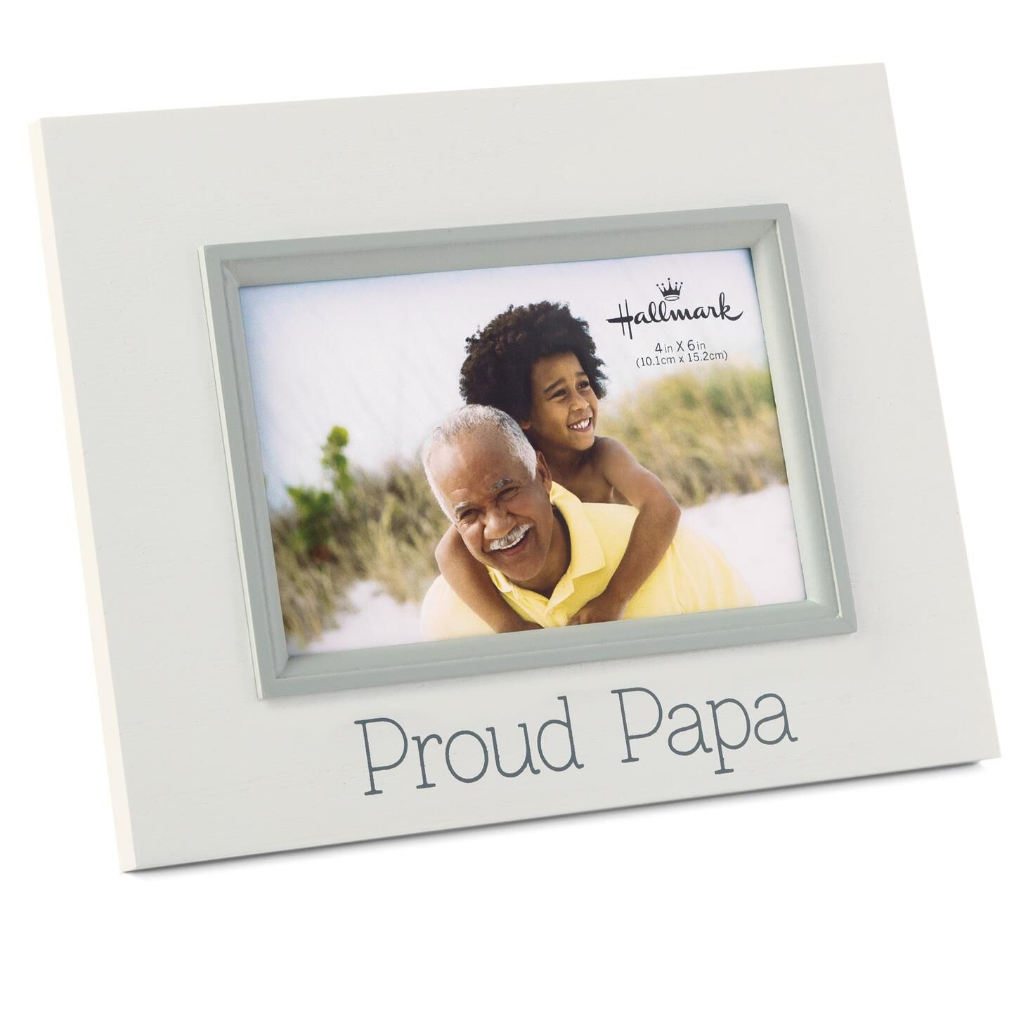proud papa 4x6 wood malden frame picture frames hallmark