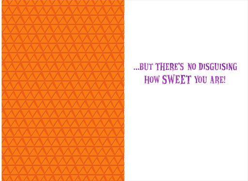 itty bittys® Hello Kitty® Pumpkin Surprise Halloween Card,