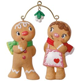 Cute Cookie Couple Ornament, , large