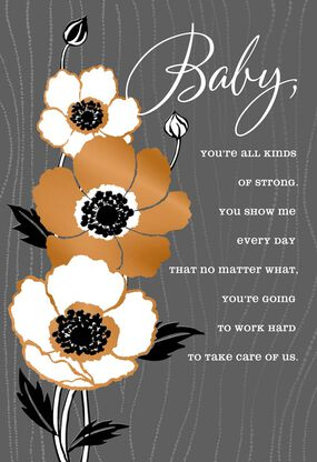 All Kinds Of Strong Romantic Fathers Day Card