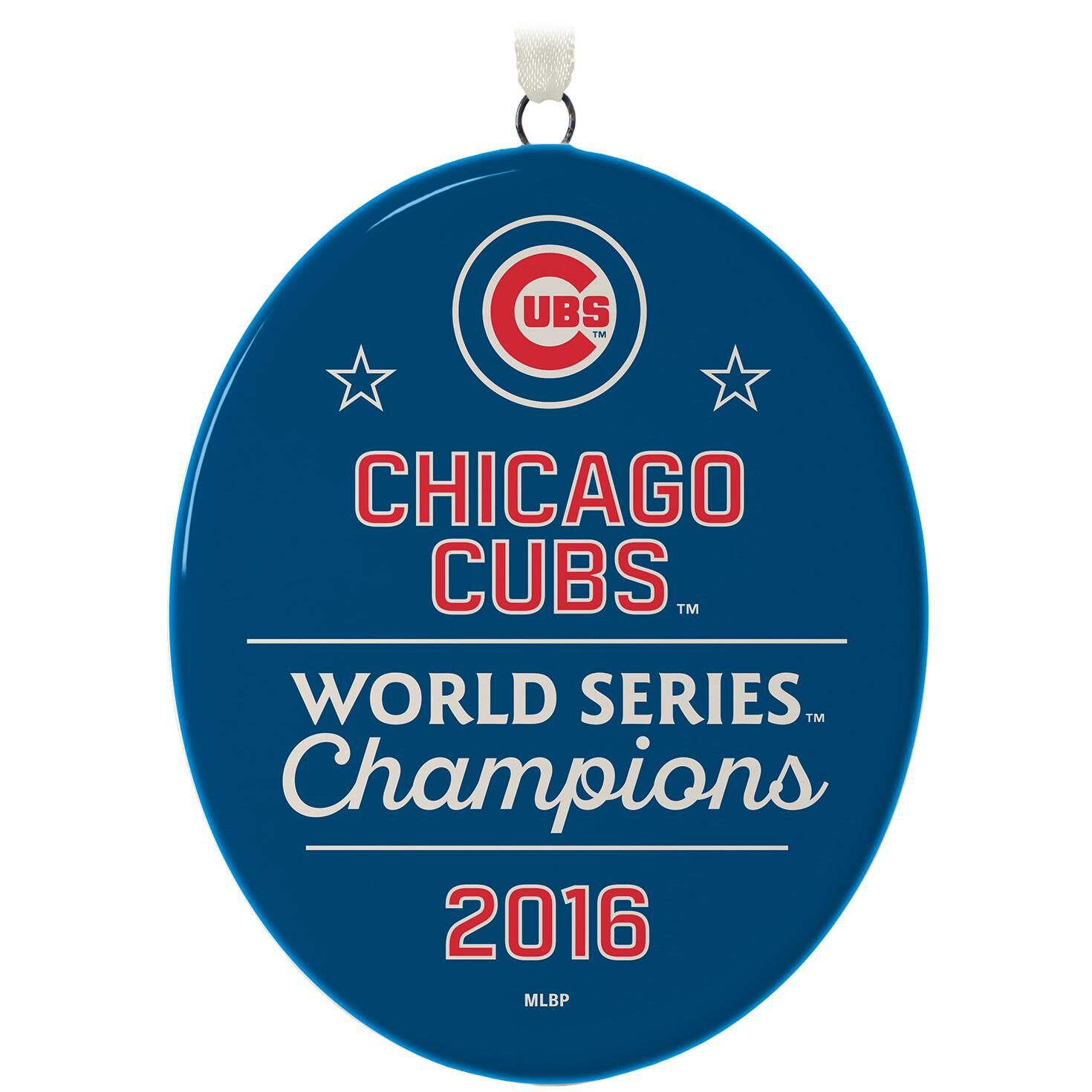 Chicago Cubs™ 2016 World Series™ Ornament - Keepsake Ornaments ...