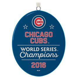Chicago Cubs™ 2016 World Series™ Ornament, , large