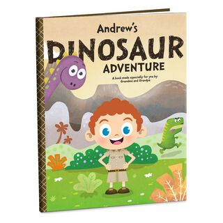 Dinosaur Adventure Personalized Book,