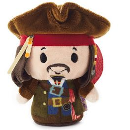 itty bittys® Pirates of the Caribbean Captain Jack Sparrow Stuffed Animal Limited Edition, , large