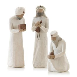 Willow Tree® Three Wise Men Nativity Figurines, , large