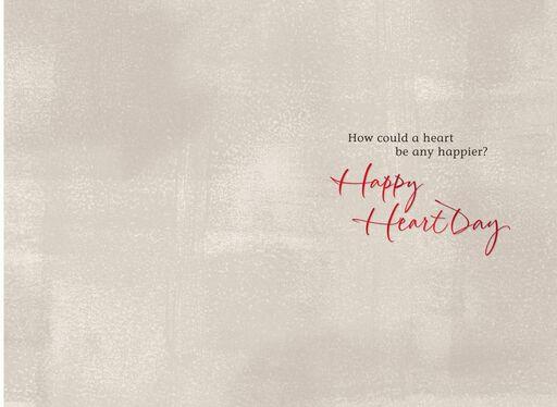 Happy Heart Grandson Valentine's Day Card,