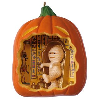 Happy Halloween! Mummy Ornament,