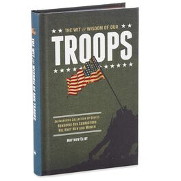 The Wit & Wisdom of Our Troops Book, , large