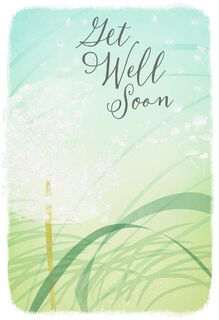 Wishing You Blue Skies Get Well Card,