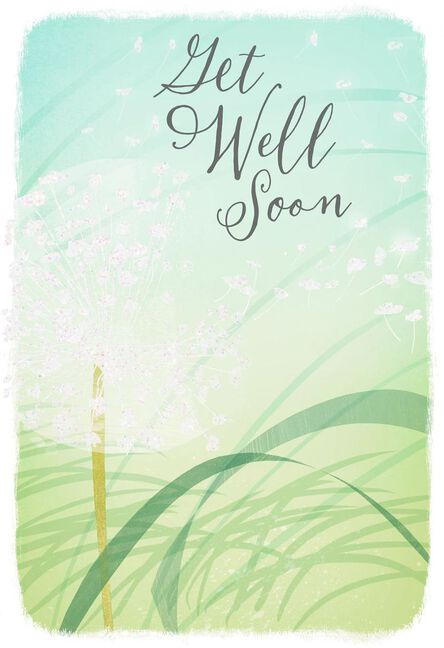 Wishing You Blue Skies Get Well Card Greeting Cards Hallmark