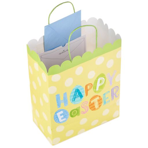 Happy Easter On Yellow Large Gift Bag 13