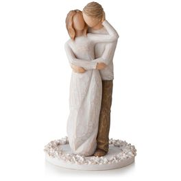 Willow Tree® Together Wedding Cake Topper Figurine, , large