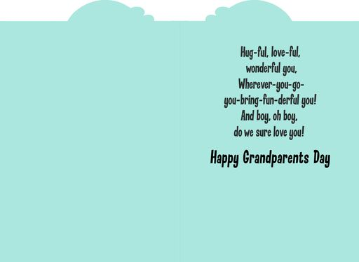 Grandparents day greeting cards mickey and minnie we love you grandparents day card m4hsunfo