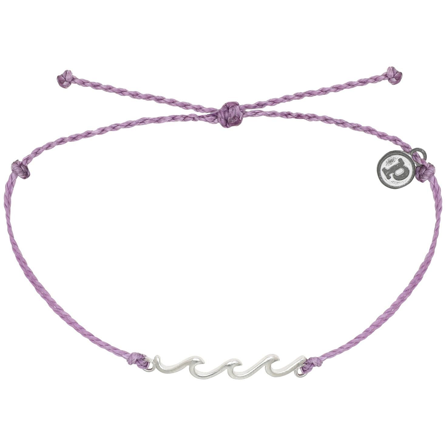 Delicate Waves Charm Bracelet