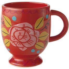 Rose Ceramic Mug, , large
