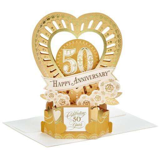 50th Anniversary Gifts Cards Golden Anniversary Hallmark