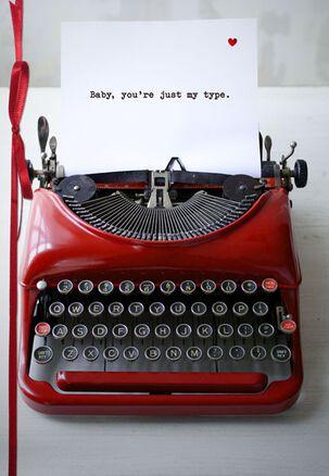 Typewriter Birthday