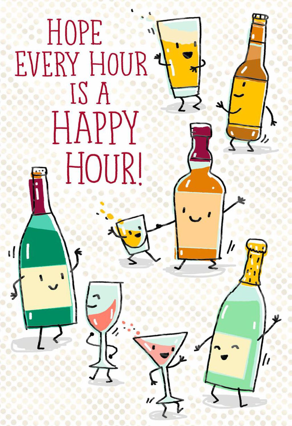 Beers And Cheers Funny Birthday Card Greeting Cards Hallmark
