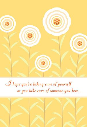 Take Care of You Encouragement Card
