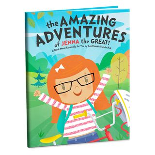 The Amazing Adventures Personalized Book,