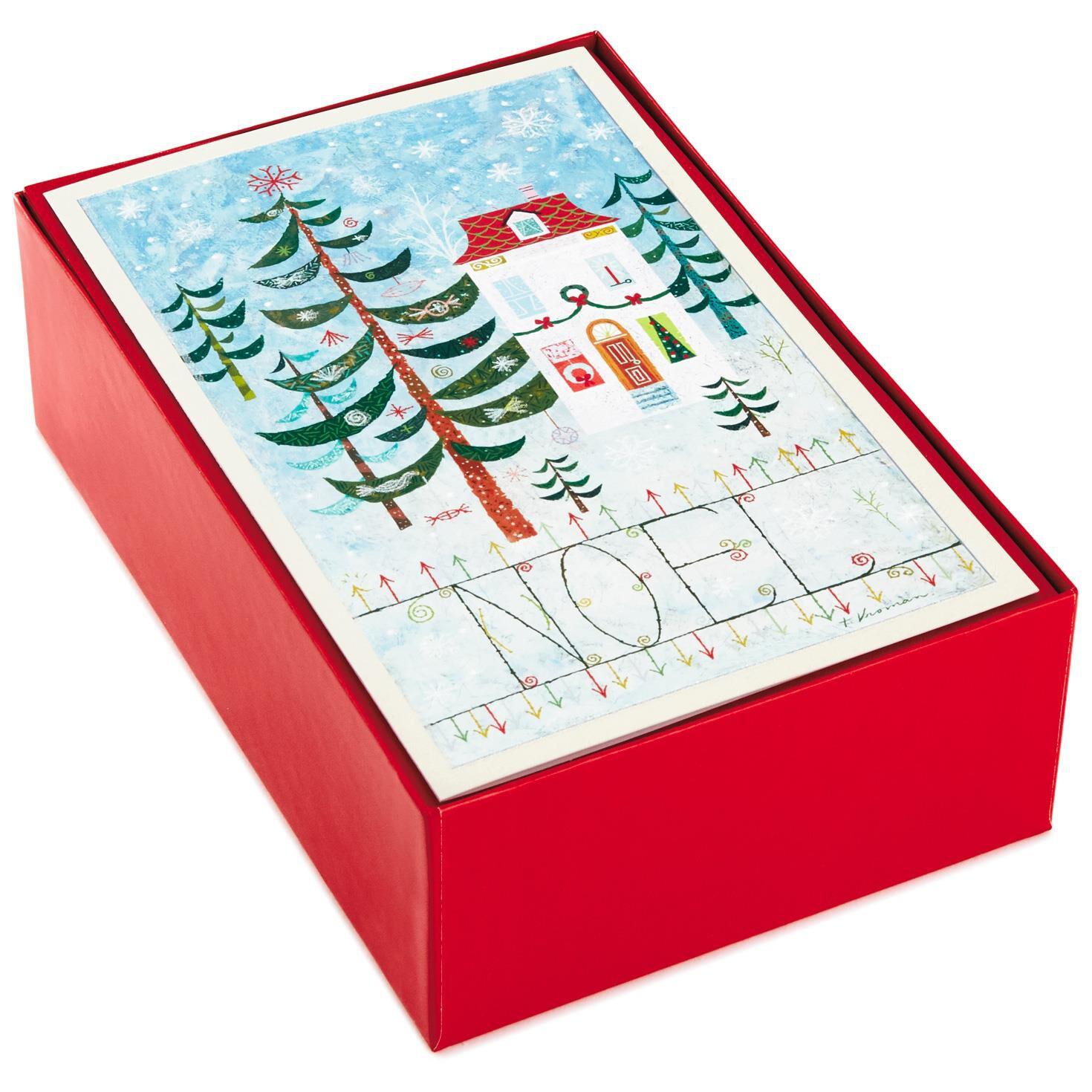 Noel Value Christmas Cards, Box of 40 - Boxed Cards - Hallmark